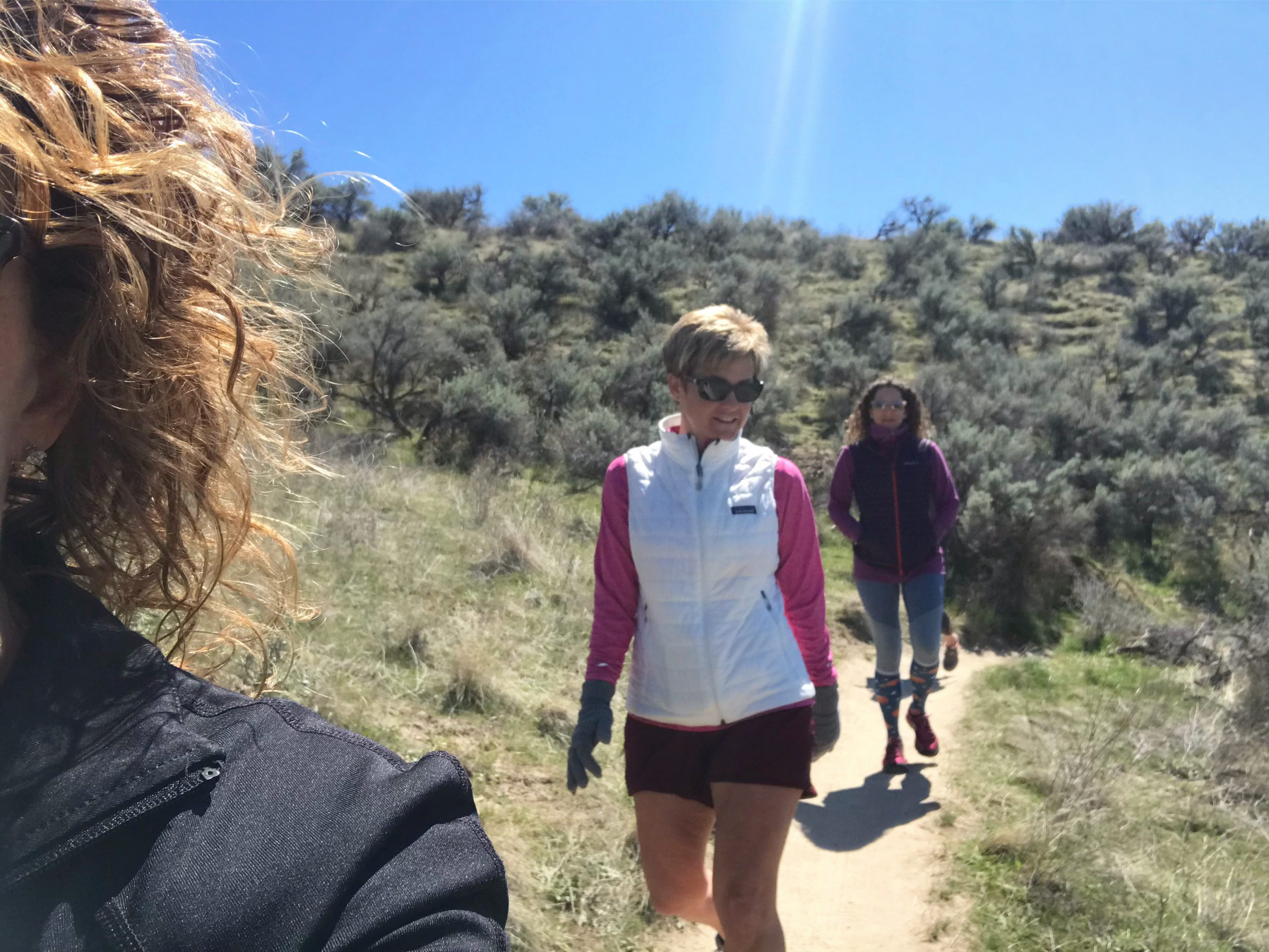 Hiking, social distance style
